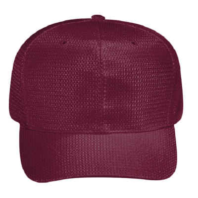 c0ecef4a63e OTTO Polyester Jersey Knit Six Panel Pro Style Baseball Cap ...