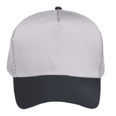 ed26cd70 OTTO Cotton Blend Twill Five Panel Pro Style Mesh Back Trucker Hat ...